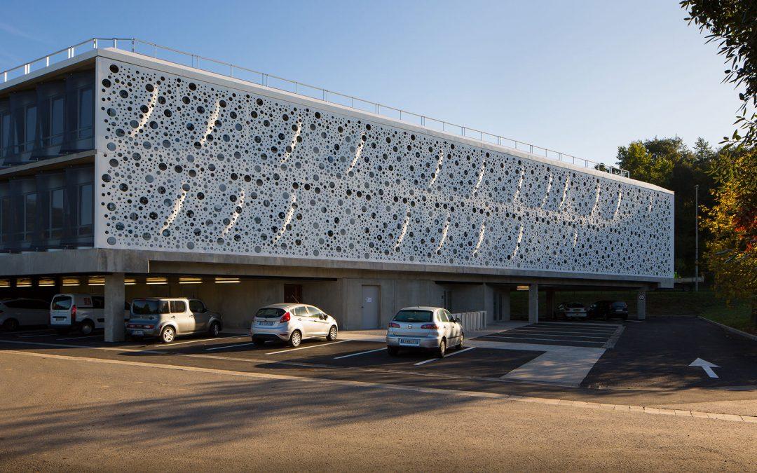 Gilles Bouchez Architecture | Brise soleil en Corian
