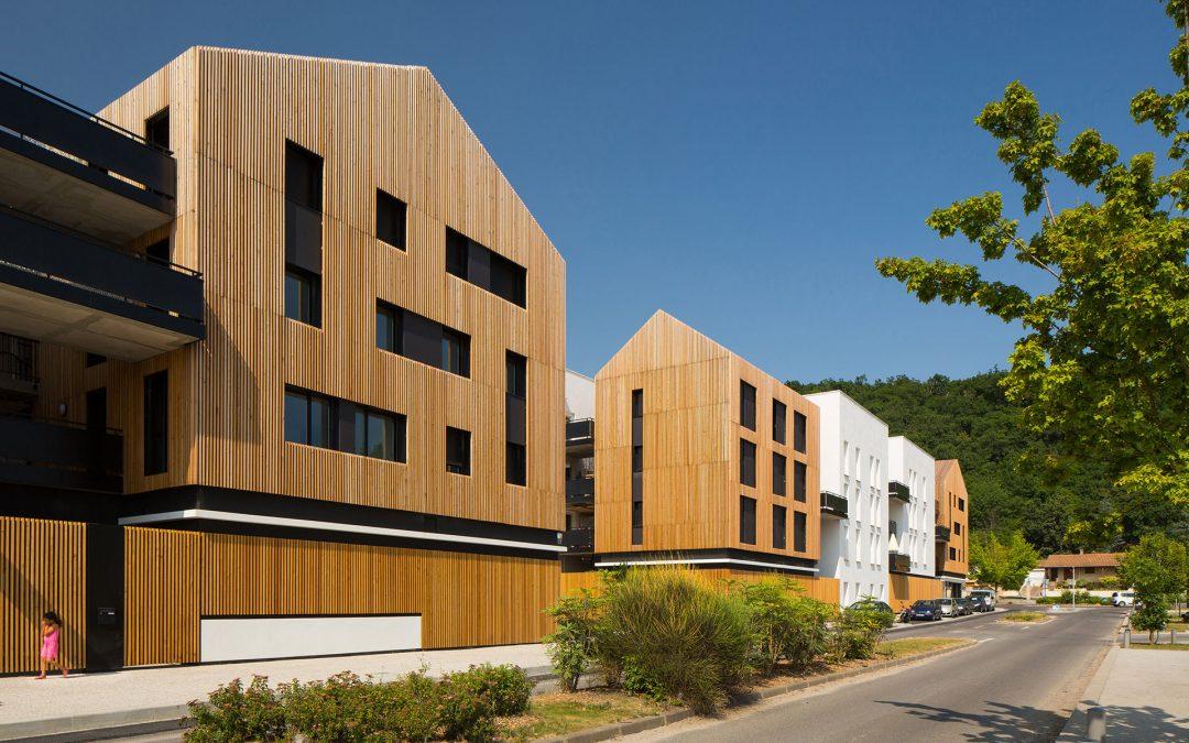 Hessamfar & Vérons architectes | Logements à Floirac