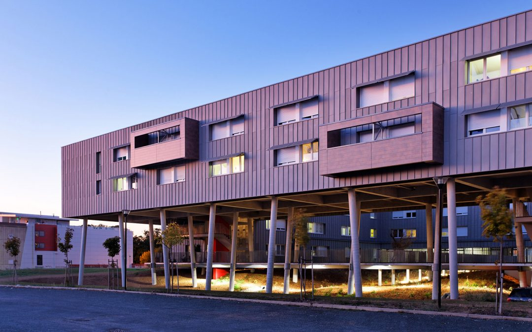 Agence Rossi architecture – Groupe Loisier | Résidence universitaire