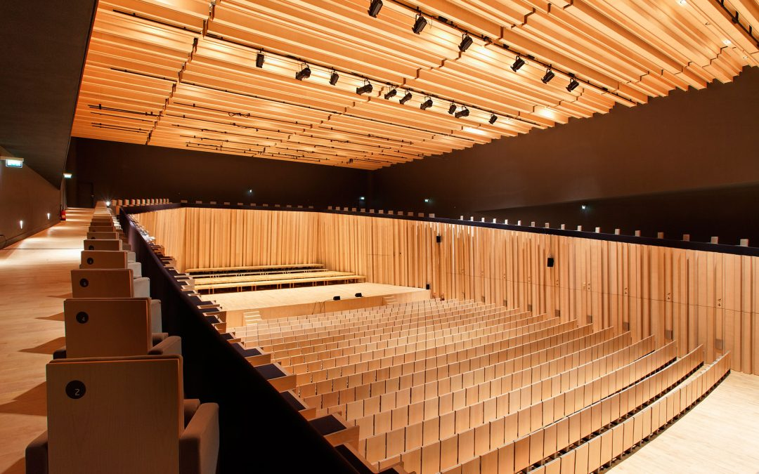 Jlcg arquitectos | TAP – Théâtre Auditorium de Poitiers