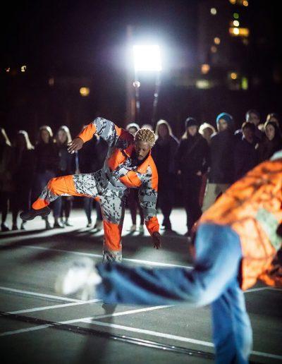 Danse de nuit, Boris Charmatz © Arthur Pequin