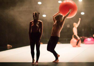 Castors, Marlène Saldana et Jonathan Drillet © photographie Arthur Pequin