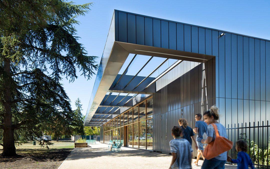 Atelier d'architecture King Kong | bibliothèque de Caudéran