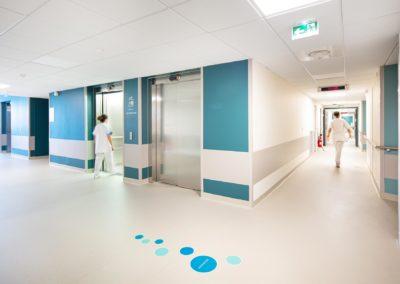 Pôle chirurgical Bergonié à Bordeaux © photographies Arthur Pequin